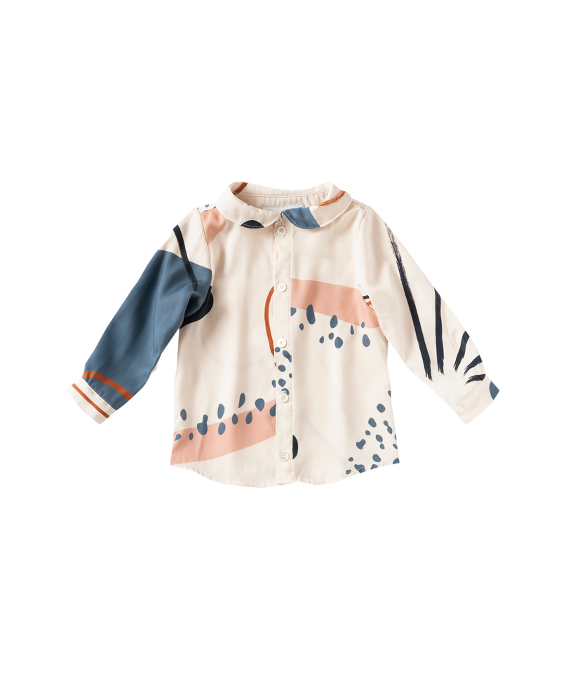 HAND WAVE KIDS SHIRT