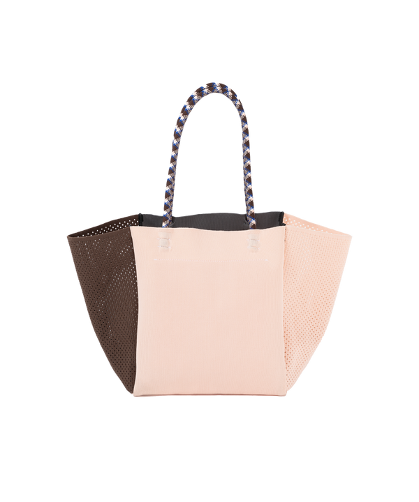 SIDE MESH TOTE BAG
