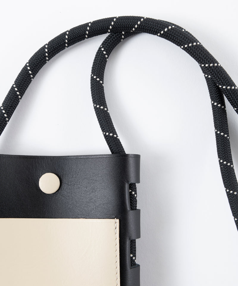 CORD LEATHER BAG