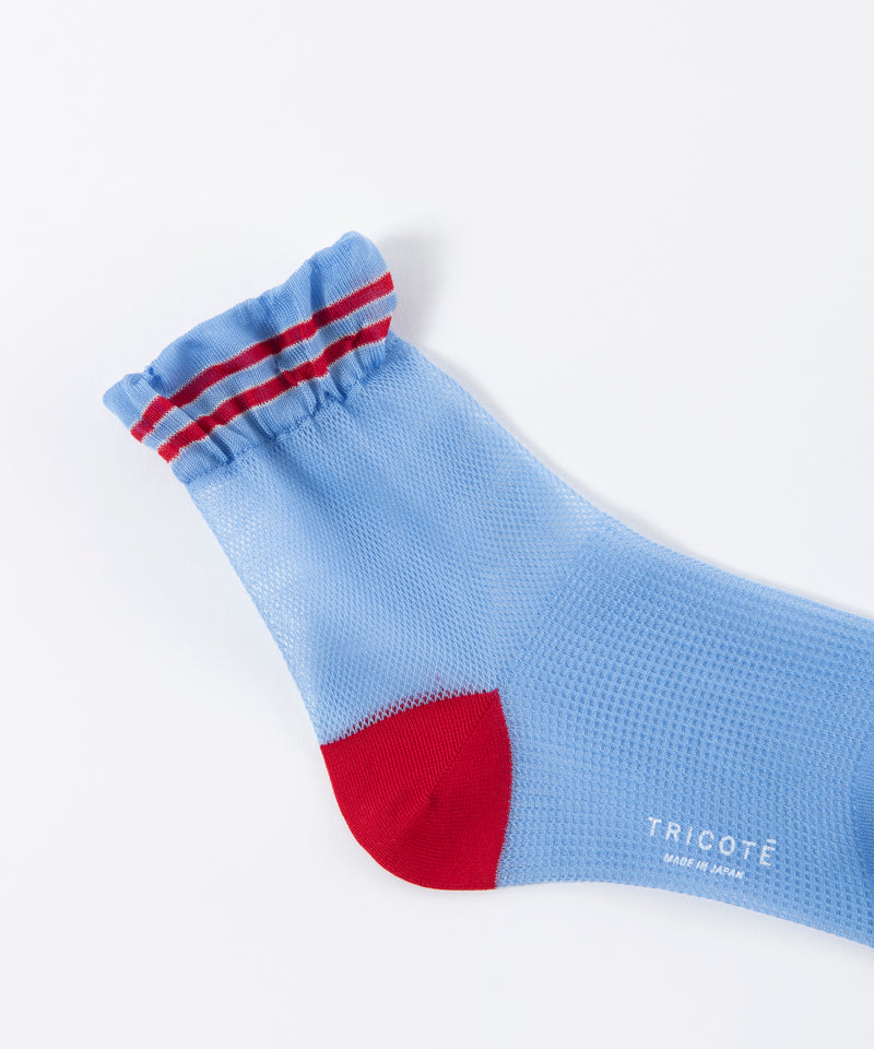DOUBLE MESH SOCKS