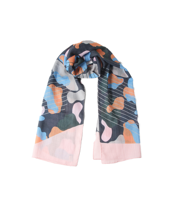 ANIMAL PATTERN SCARF