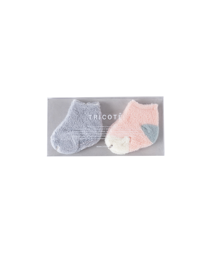PILE SOCKS SET OF 2 (BABY)