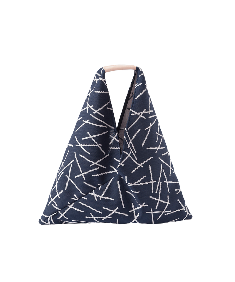 STICK TRIANGLE TOTE BAG