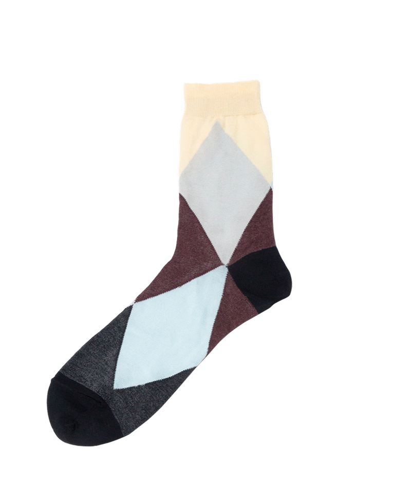 ARGYLE PAPA SOCKS (MENS)