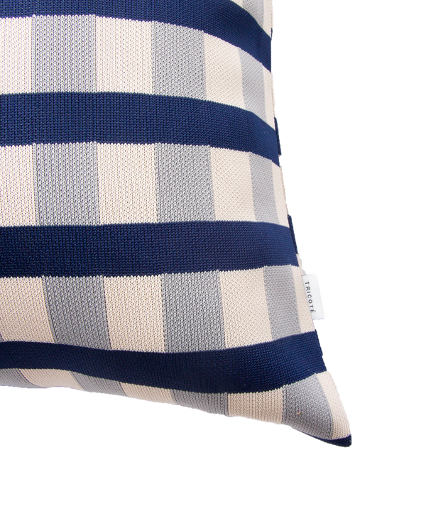 BLOCK CHECK CUSHION COVER 30×50