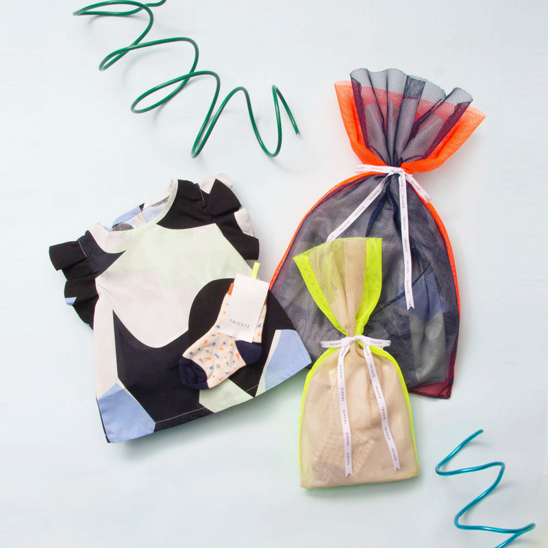 MESH GIFT POUCH L