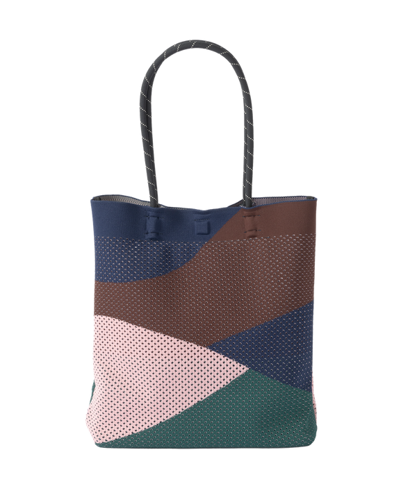 MESH COLORFUL TOTE BAG