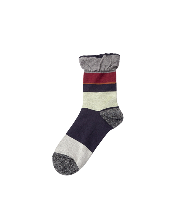 TOE LAME RANDOM STRIPE SOCKS