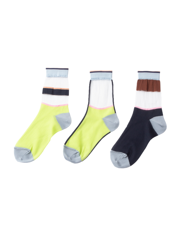 MIX UP SHEER SOCKS