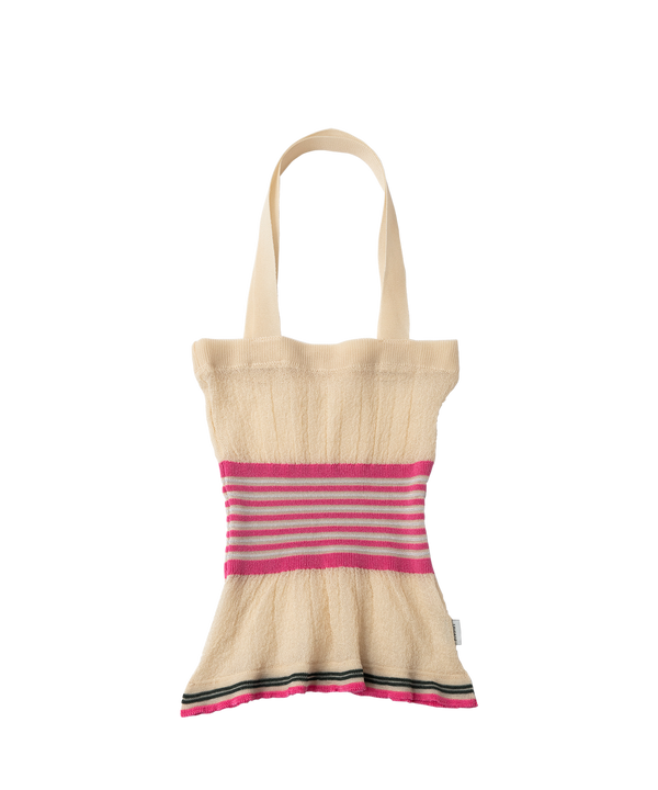 SHEER KNIT BAG