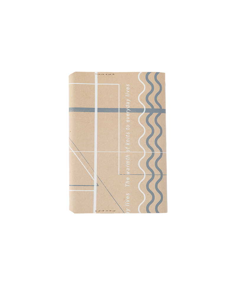 RANDOM LINE LEATHER BOOK COVER
