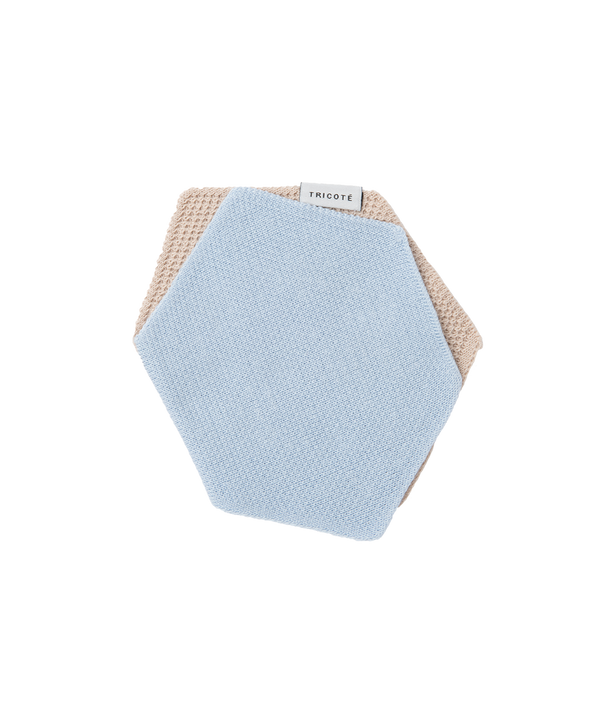 HEXAGON KNIT HANDKERCHIEF