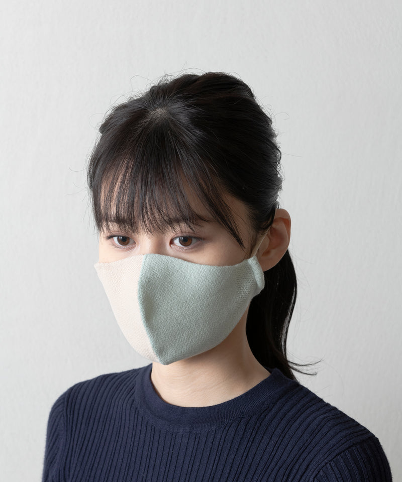 BI COLOR KNIT MASK