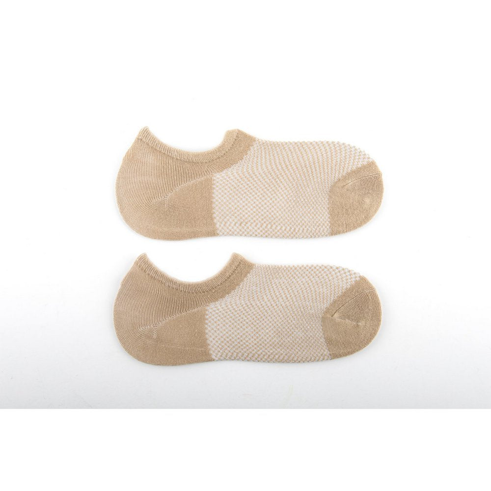 no show socks best available in mens, womens and king sizes in beige