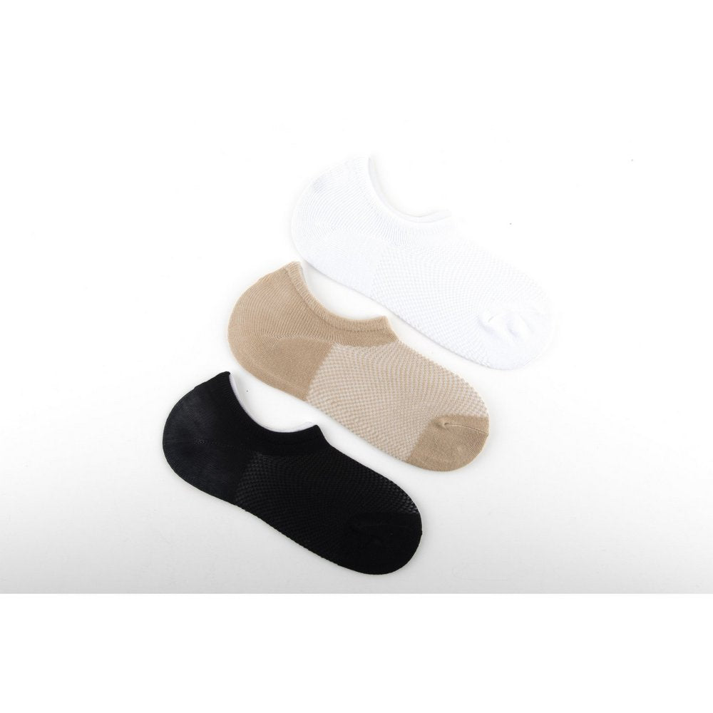bamboo invisible socks in three colours