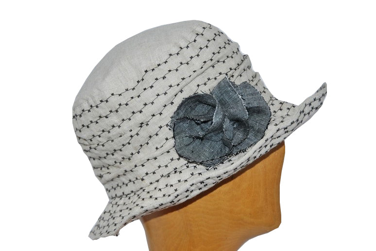 Women's Linen Cotton Bucket Hat