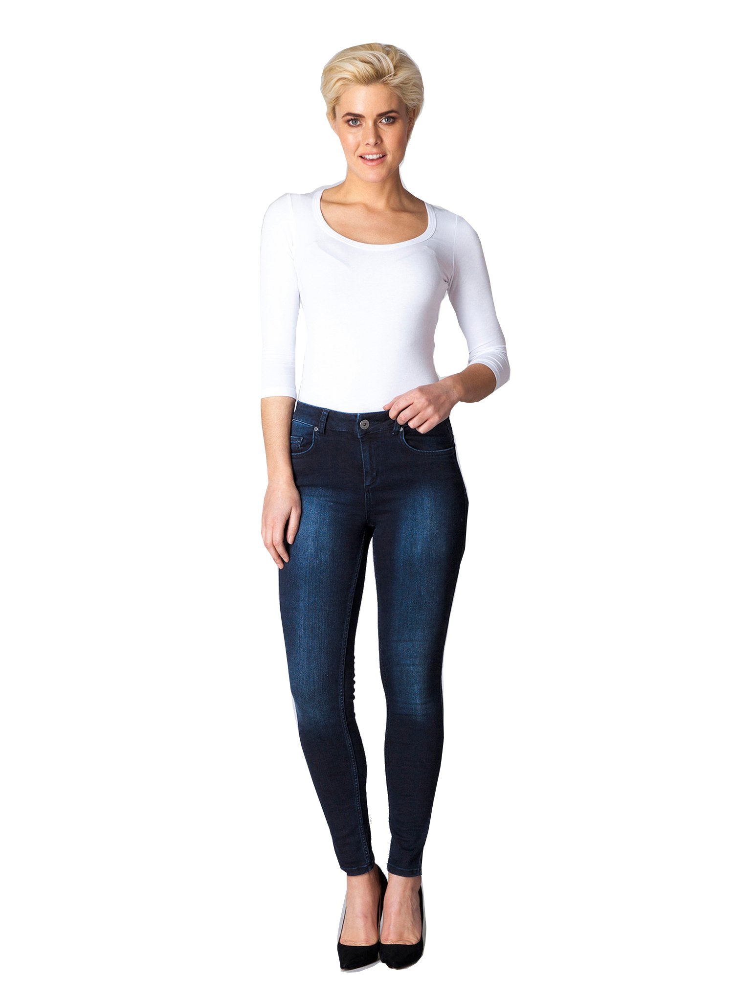 Slimming Denim Jeans