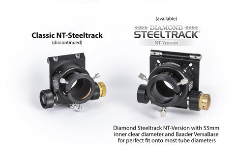 Comparison of Classic and Diamond Steeltrack®