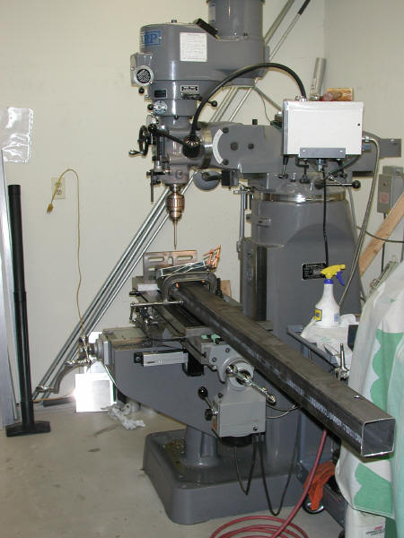 Machining the Wheel Mount Features in the Beams