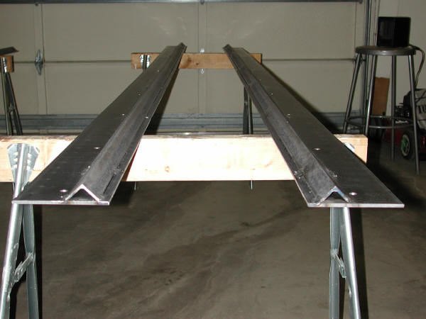 Completed Track Assemblies