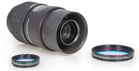 "Either 1¼"" or 2"" can be adapter (not simultaniously) to the Hyperion Universal Zoom Mark IV"