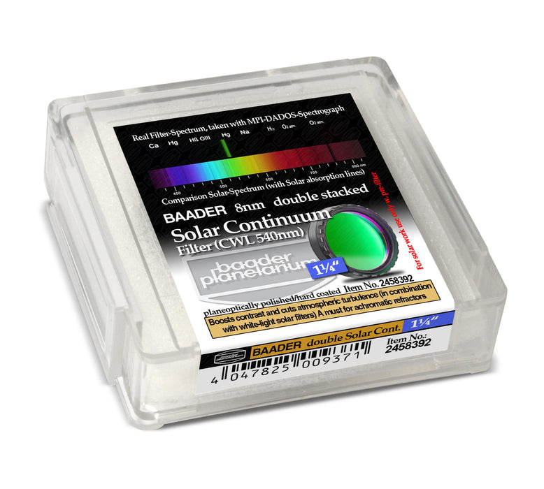 "Baader Solar Continuum Filter 1¼"" (double stacked)"