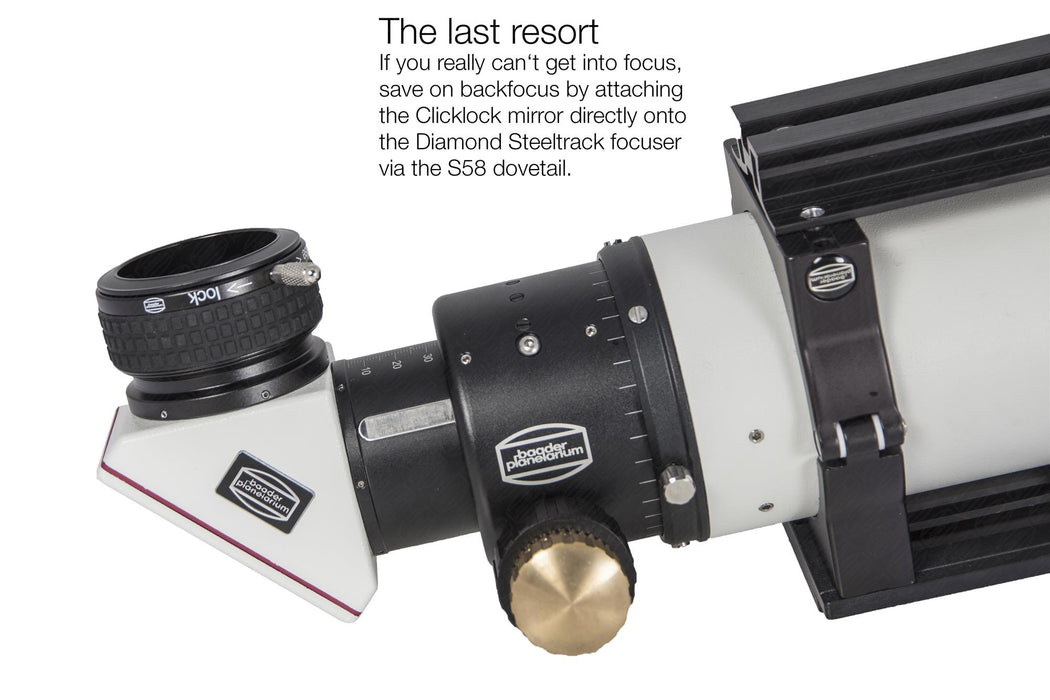"2"" BDS-RT Baader Diamond Steeltrack Focuser"