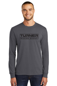 Long Sleeve Core Blend Tee / Charcoal