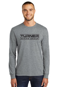 Long Sleeve Core Blend Tee / Heathered Grey