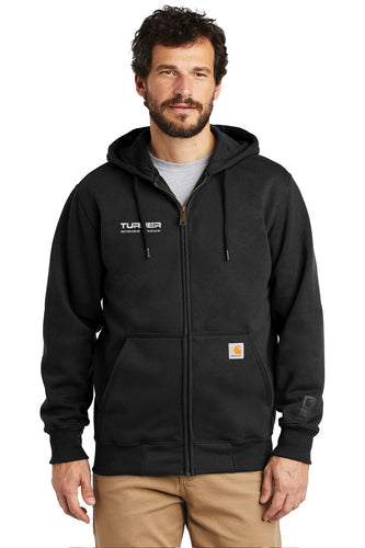 Carhartt Rain Defender Paxton Heavyweight Hooded Zip-Front Sweatshirt