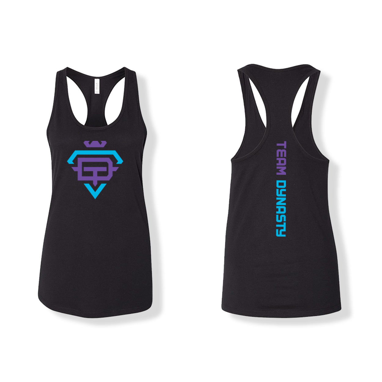 Tank Top - Black Team Dynasty
