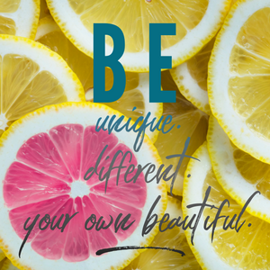 Be your own beautiful!