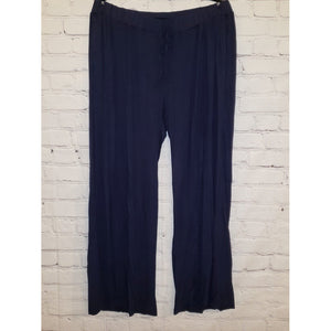 Navy Flared Pants