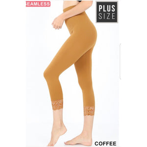 Capris Lace Leggings