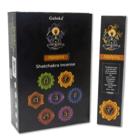 Third Chakra Incense - POWER - Frankincense