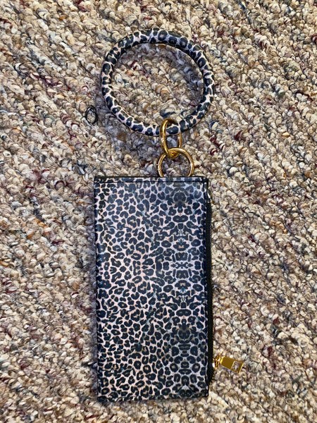 Wrist Wallet Cheetah