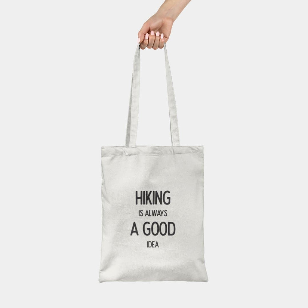 Hiking is always a good idea - Tote bag