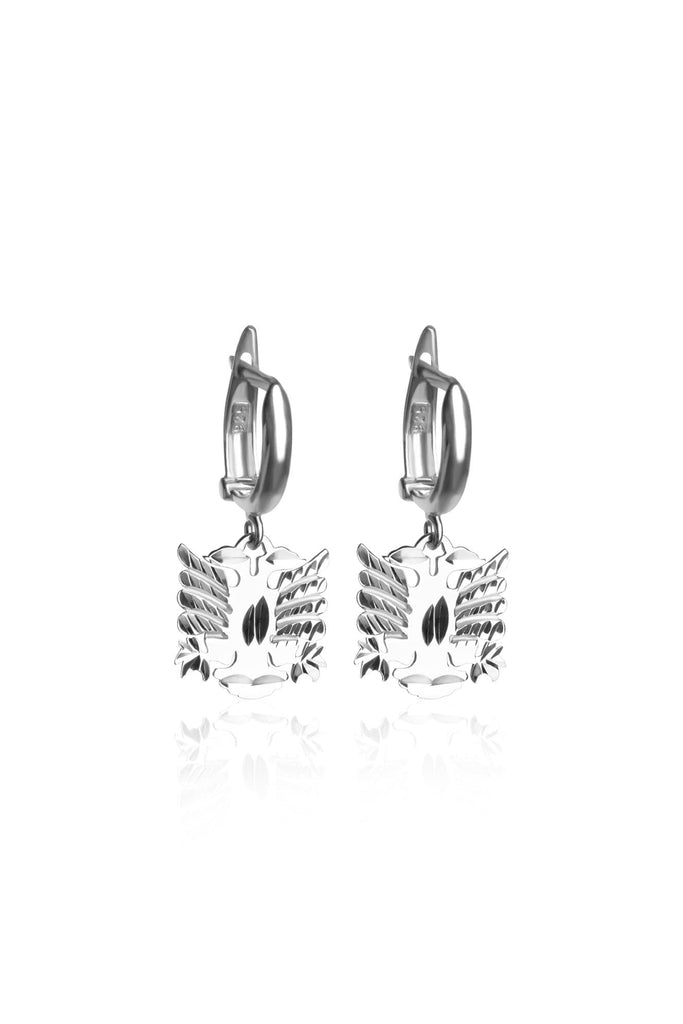 Shqiponje Silver Earrings