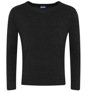 Black pullover jumper