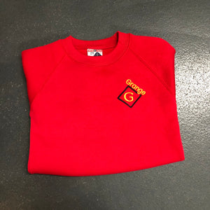 Grange Red Sweatshirt