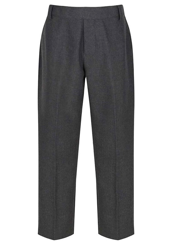 Grey Junior Adjustable Waist Pants