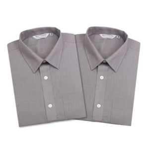 2 Pack Boys Grey Long Sleeve Shirt
