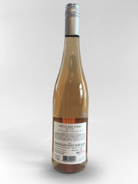 Smith Story  Rosé of Pinot Noir  Rheingau Germany, 2017