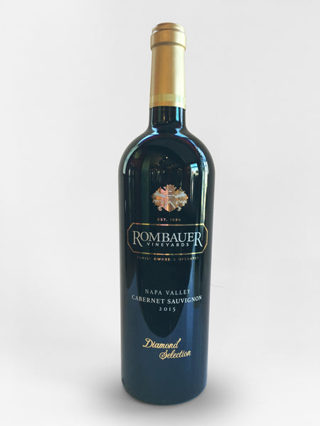 Rombauer Cabernet Sauvignon Diamond Select Napa Valley, 2015