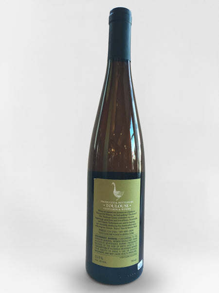 Toulouse Riesling Anderson Valley Estate, 2017