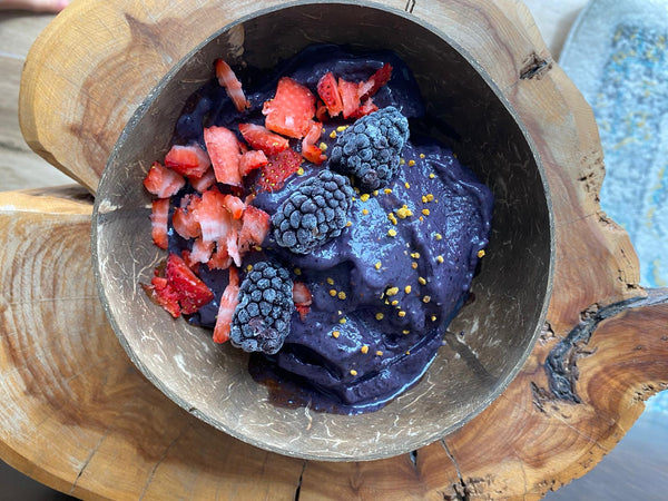Smoothie Bowl Con Berries
