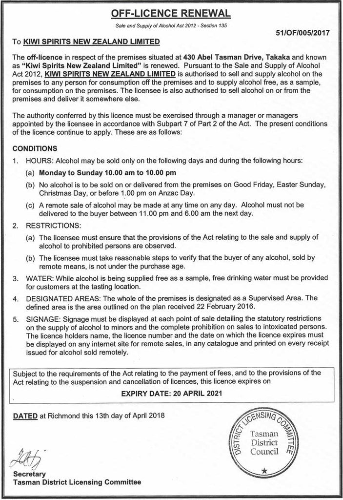liquor permit application form for india