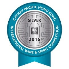 Cathay Pacific Hong Kong International Wine & Spirit Competition SILVER 2016