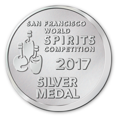 San Francisco World Spirits Competition SILVER 2017