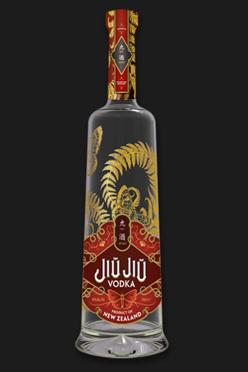 JiuJiu Supreme Label Vodka